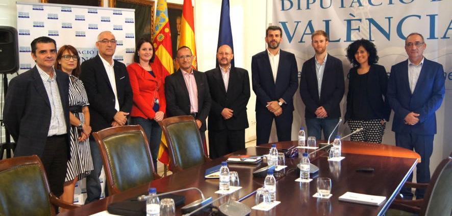 Encuentro entre AEIs de la Comunidad Valenciana y la Diputación de Valenci